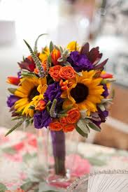 Wedding Flowers Fall Colors - 30 fall wedding bouquets for autumn brides autumn bridal
