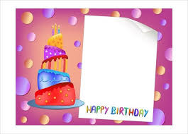 microsoft birthday card templates free greeting card template