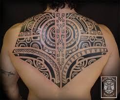 tatouage polynesien polynesian tattoo marquesan back piece