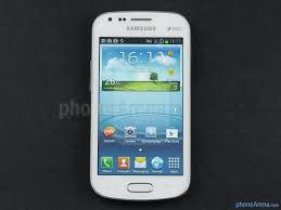 samsung galaxy duos has a 4 inch screen with a resolution 480