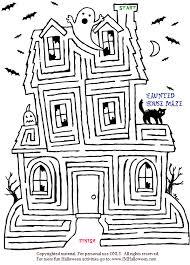 coloring amusing fun printable mazes cat coloring fun