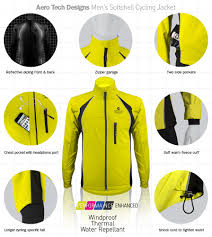 gore tex mtb jacket aero tech designs men u0027s windproof thermal cycling jacket