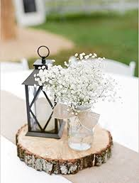 rustic center pieces rustic wedding centerpiece tree bark slice