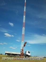 Conhecido Torre Estaiada e Auto Portante Provedor Internet / FM / TV em  #KA32