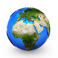 World Globe Map Image Gallery Of 3d World Globe Map