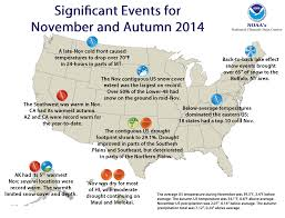 Weather Map New England by National Climate Report November 2014 State Of The Climate