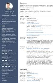 smart idea ios developer resume 8 developer resume samples