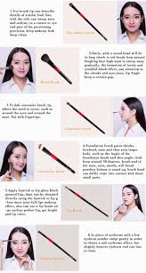 top grade goat animal hair 15 pcs professional makeup brushes set