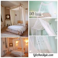 Diy Canopy Bed With Lights Diy Bed Canopy From Ukkonooa This Diy Bed Canopy Is One Of The