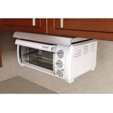Microwave Under Cabinet Bracket Wonderful Toaster Oven Under Cabinet Mount Black And Decker