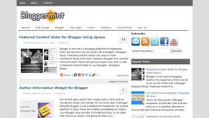 25 collection of free blogger templates downgraf