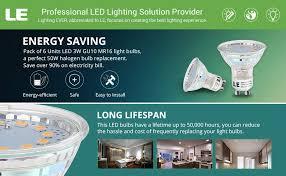 le gu10 led bulbs 50w halogen bulbs equivalent 3w 350lm 120