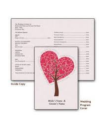 create your own wedding program create a wedding program with these stylish free templates