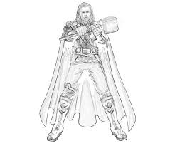 Thor Coloring Pages 28171 Bestofcoloring Com Thor Coloring Page