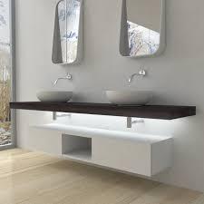 mensola lavabo da appoggio mobili bagno mensola per lavabo con led