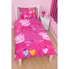 Asda Duvet Peppa Pig Single Duvet Set Bedding Asda Direct All For The