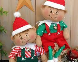 sewing patterns christmas elf pdf e pattern 75 christmas elf girl primitive raggedy folk