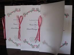 programs with vellum cover weddingbee photo gallery