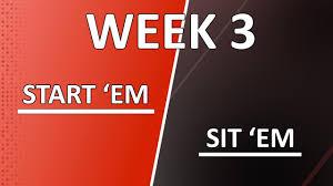 Nfl Tv Map Week 3 Week 3 Start U0027em Sit U0027em Stafford Miller And Crowder Si Com