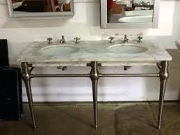 carrara marble console sink appealing marble console sink at victorian bathroom home