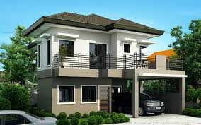 modern two house plans modern two storey house plans type modern house design
