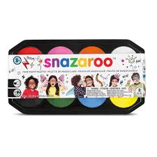 Snazaroo Light Grey Snazaroo Classic Face Paint 18ml