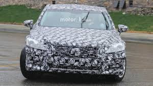 new lexus is model release next gen 2018 lexus es mule spied for the first time