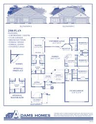 New Homes Floor Plans The Preserve Adams Homes