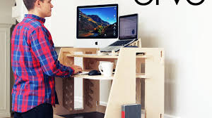 affordable sit stand desk ervo a revolutionary sit to stand desk by perch products kickstarter