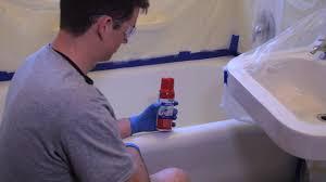 magic tub u0026 tile spray on refinishing kit youtube