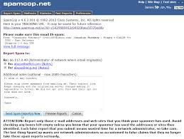 yahoo email junk mail how to permanently stop spam with spamcop inmotion hosting
