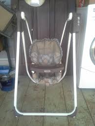 Graco Baby Swing Chair Find More Graco Baby Swing With Feeding Tray For Sale At Up To 90