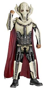 master blaster halloween costume amazon com star wars deluxe general grievous costume one color