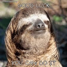 Sloth Meme Maker - encouragement sloth â meme maker â make a meme online