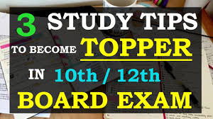 how to study for board exams 10th 12th 2018 youtube