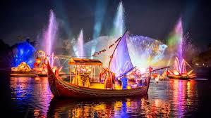 Light Show Rivers Of Light Nighttime Experience Walt Disney World Resort