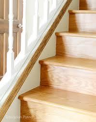stair skirting diy dandelion patina
