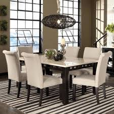 7 pc dining room set standard furniture gateway white 7 dining room