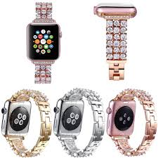 rhinestone bands luxury bling rhinestone for apple series 3 band