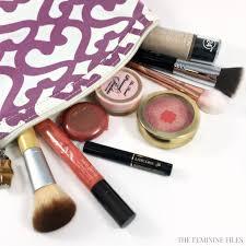 what u0027s in my camping makeup bag the feminine files