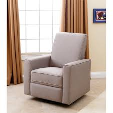 Swivel Glider Recliner Chair by Abbyson Living Hampton Nursery Swivel Glider Recliner Chair In