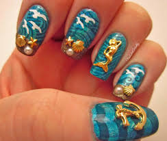 tropical beach at sunset nail art glow in the dark video tropical