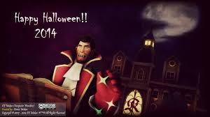 sfm tf2 happy halloween vampire medic 2014 by denisemakar on