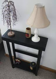 Small Black Accent Table Beautiful Primitive Small Black Painted Sofa