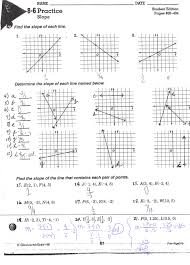 slope of a line worksheets slope worksheet semnext