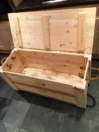 How To Build A Wood Toy Chest by Diy Pallet Chest From Only Pallets Wood 101 Pallet Ideas