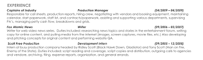 video resume tips resume tips creative writing professional exper