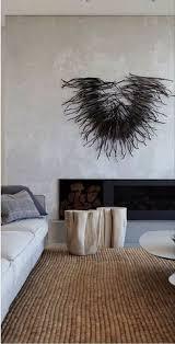 home interior brand minimalismo en blanco y negro con madera decor