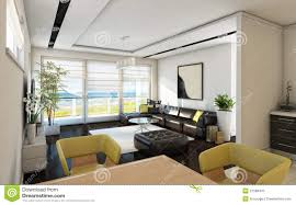 sea view living room sea view living room stock illustration image of chair 27588470