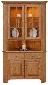 solid oak china cabinet orner hutches hutches cherry oak maple solid wood china